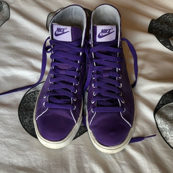 ... 67 off nike shoes purple nike sneakers from t s closet on ...